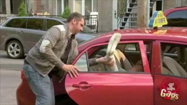 แท็กซี่โหด! หักแขนผู้โดยสาร จับโยนขึ้นรถ