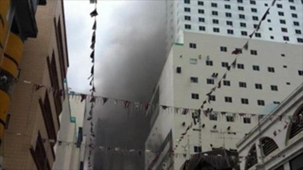 คลิปเหตุการณ์ตอนโรมแรมรีการ์เด้นระเบิด 3
