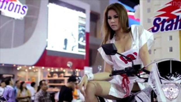 มอเตอร์โชว์ 2012 -  Stallion models Video 1