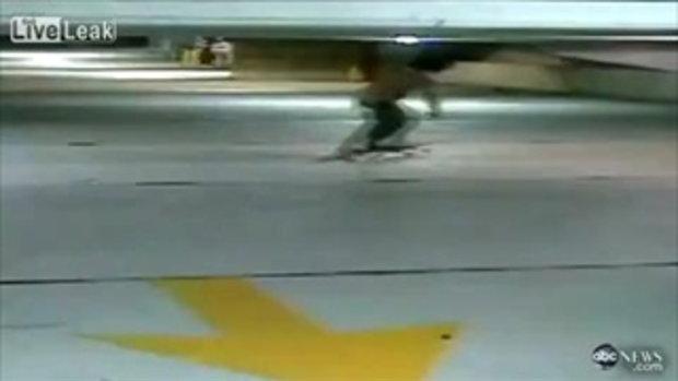 เล่นสเก็ตบอร์ดล้มฟาดกำแพง สาหัสปางตาย