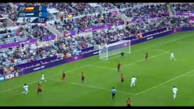 ไฮไลท์ฟุตบอล โอลิมปิก 2012 สเปน 0-1 ฮอนดูรัส