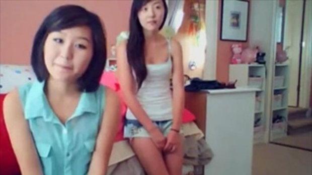 สาวน่ารัก โชว์สเต็ปสอนเต้นท่า Gangnam Style