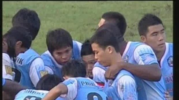 ไฮไลท์ฟุตบอลไทยพรีเมียร์ลีก 2012 การท่าเรือไทย 1 - 2 สมุทรสงคราม เอฟซี