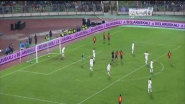 เบรารุส 0-4 สเปน (บอลโลกรอบคัดเลือก)