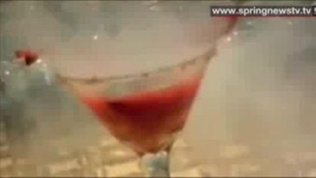 ค็อกเทลสยอง!! สาวอังกฤษดื่มกระเพาะทะลุ