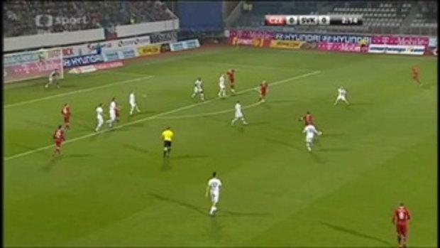 สาธารณรัฐเช็ก 3-0 สโลวาเกีย (กระชับมิตร)