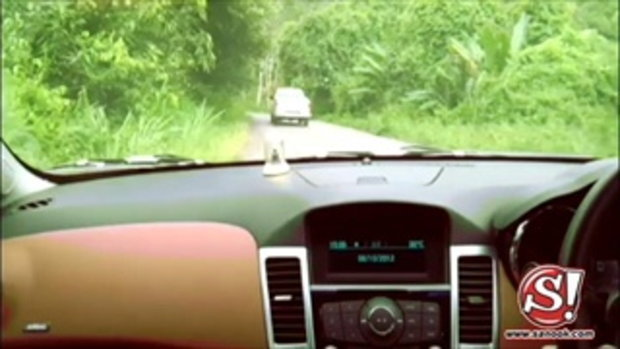 เส้นทางการขับรถไป สนุก คาราวาน ครั้งที่ 8