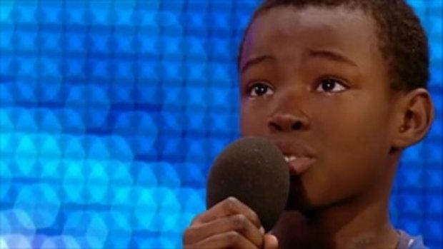 เสียงของเด็กคนนี้ จะทำให้คุณอึ้ง