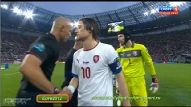 ไฮไลท์ฟุตบอล ยูโร 2012 รัสเซีย 4-1 สาธารณรัฐเช็ก