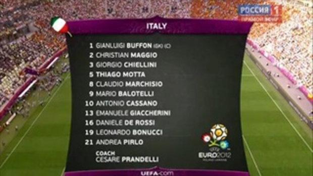 ไฮไลท์ Euro2012 สเปน 1-1 อิตาลี
