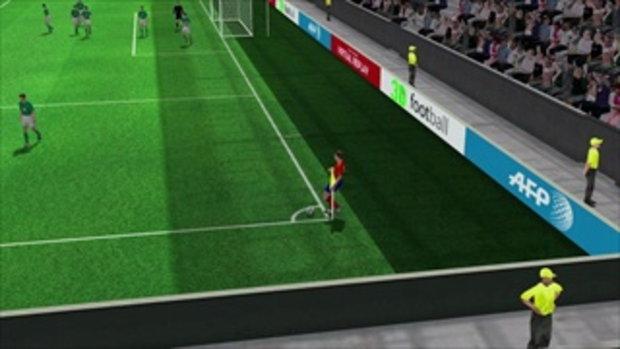 คลิปไฮไลท์ยูโร2012 3D สเปน นำ ไอร์แลนด์ 4-0