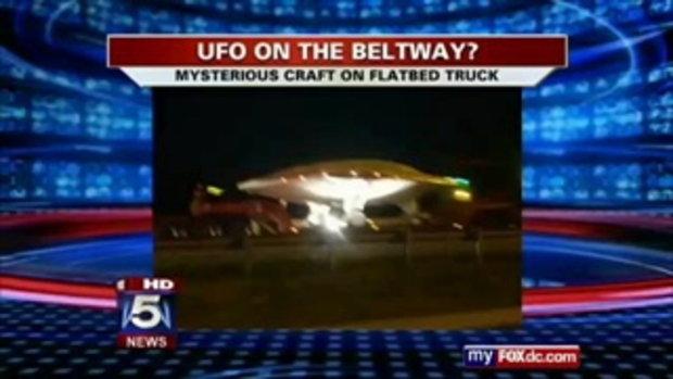 คนสหรัฐฯแตกตื่น!! ภาพขนย้าย UFO โผล่อินเตอร์เน็ต