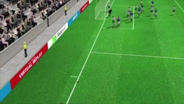 คลิปไฮไลท์ยูโร2012 3D อิตาลี นำ ไอร์แลนด์ 1-0