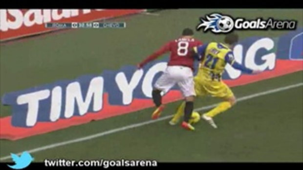 ไฮไลท์ เซเรีย อา  โรม่า 2 - 0 คิเอโว่