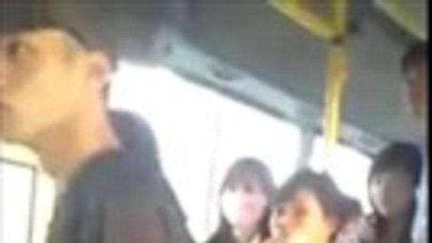 ลูบนมคลำนม บนรถเมล์ ฮันแน่อย่าคิดว่าเนียน