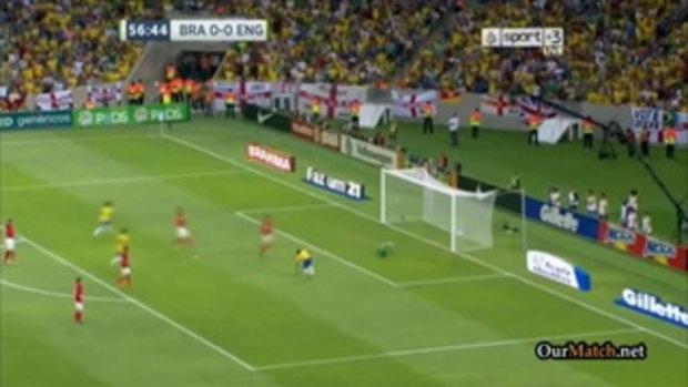 บราซิล 2-2 อังกฤษ (กระชับมิตร)
