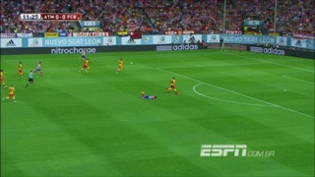 ไฮไลท์ ลาลีกา สเปน HD Atletico Madrid 1-1 Barcelona Super Cup