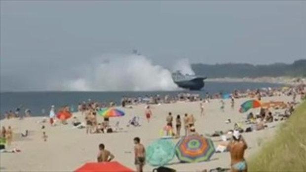 เรือรบรัสเชียวิ่งเกยหาด