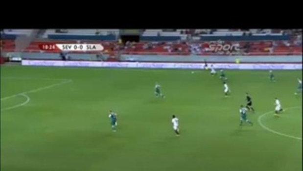 ไฮไลท์ เซบีย่า 4-1 สลาสค์ โลคอฟ (ยูโรป้า)