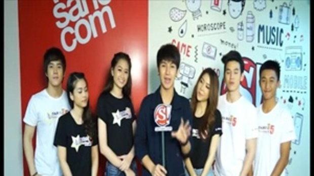 """ผู้ผ่านเข้ารอบ 6 คน โครงการค้นหาสุดยอด MC  """"TARO MC Contest ปี 5"""