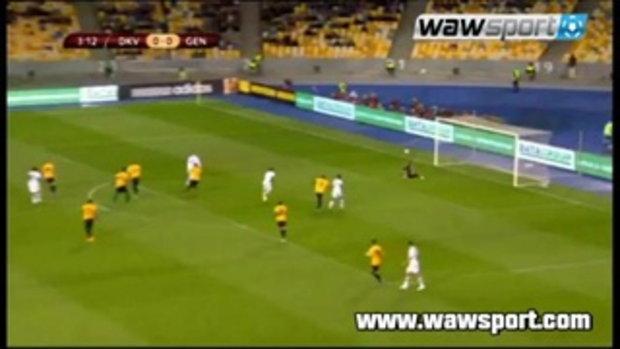ไฮไลต์ฟุตบอล ดินาโม เคียฟ 0-1 เกงค์ (ยูโรป้า)