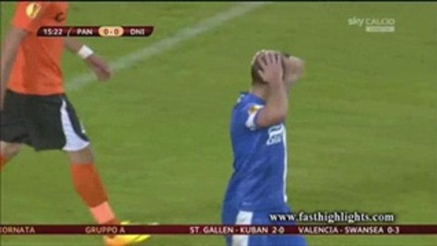 ไฮไลต์ฟุตบอล แพนดูรี่ 0-1 ดนีโปร (ยูโรป้า)