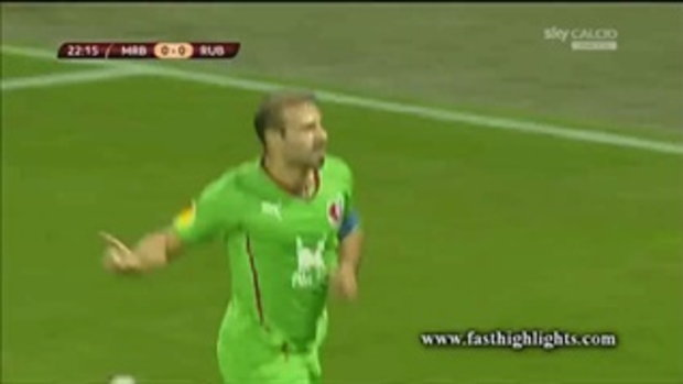 ไฮไลต์ฟุตบอล  มาริบอร์ 2-5 รูบิน คาซาน (ยูโรป้า)