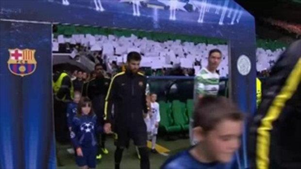 ไฮไลต์ฟุตบอล กลาสโกว์ เซลติก 0-1 บาร์เซโลน่า