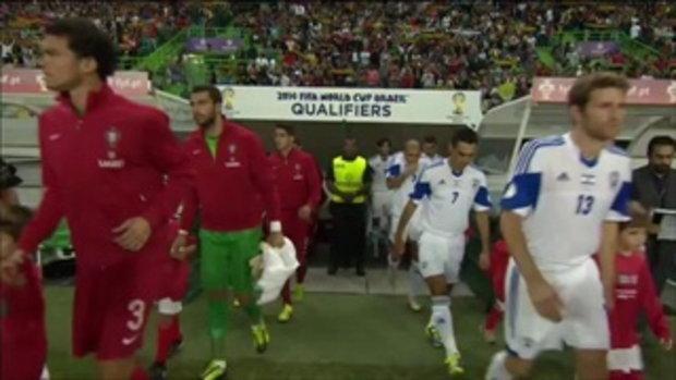 ไฮไลต์ฟุตบอล โปรตุเกส 1-1 อิสราเอล (บอลโลก รอบคัดเลือก)