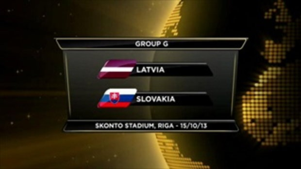ไฮไลต์ฟุตบอล ลัตเวีย 2-2 สโลวาเกีย