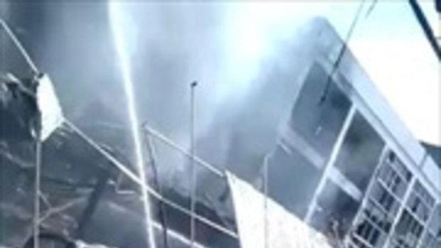ไฟไหม้ ตลาดพรธิสารคลอง10 @ปทุมธานี