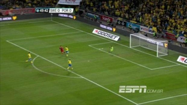 ไฮไลท์ฟุตบอล สวีเดน 2-3 โปรตุเกส ฟุตบอลโลก รอบเพลย์ออฟ โซนยุโรป นัดสอง