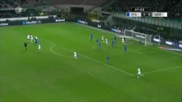 อิตาลี 1-1 เยอรมัน (กระชับมิตร)