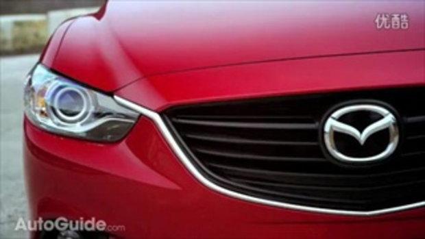 ยลโฉม Mazda6 สวยเรียบหรูแรงแห่งปี 2014