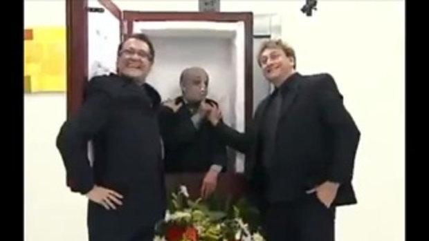 แกล้งคนฮ่าๆ โลงศพในลิฟท์