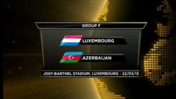 ลักเซมเบิร์ก 0-0 อาเซอร์ไบจาน (บอลโลกรอบคัดเลือก)