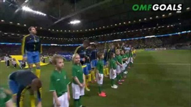 สวีเดน 0-0 ไอร์แลนด์ (บอลโลกรอบคัดเลือก)