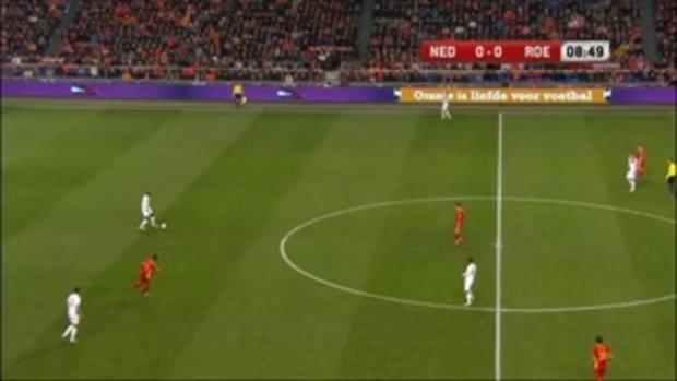 ฮอลแลนด์ 4-0 โรมาเนีย (บอลโลกรอบคัดเลือก)