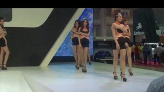 พริตตี้ Hyundai girls opening