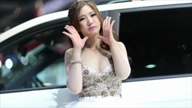 พริตตี้ Ssangyong - Bangkok Motor Show 2013