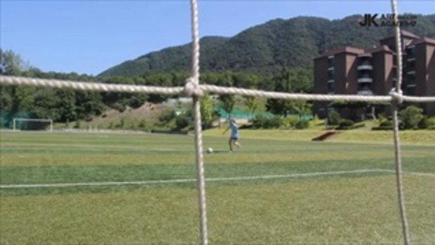 สาวญี่ปุ่น โชว์ลีลาฟุตบอล ระดับมหาเทพ