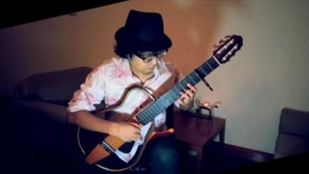 อังศุมาลิน Hideko - fingerstyle guitar - cover by Nobu