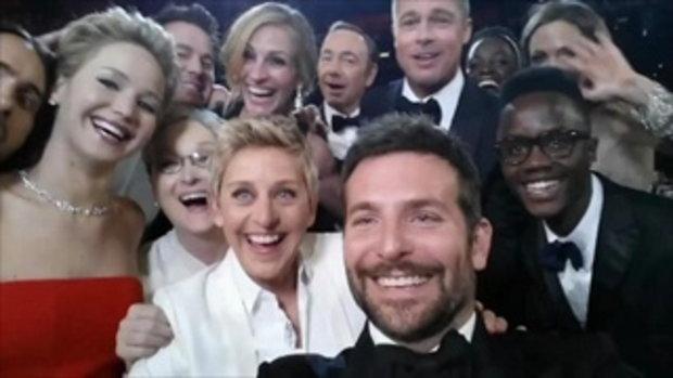 น่ารักโคตร! ช็อตเด็ด ดาราฮอลลีวู๊ดแห่ถ่ายรูป Selfie