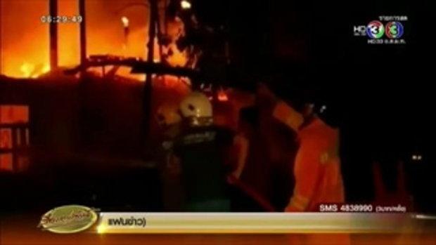 ไฟไหม้กุฏิวัดในโคราชวอดทั้งหลัง เสียหายกว่า 3 ล้านบาท (26 ต.ค.58)