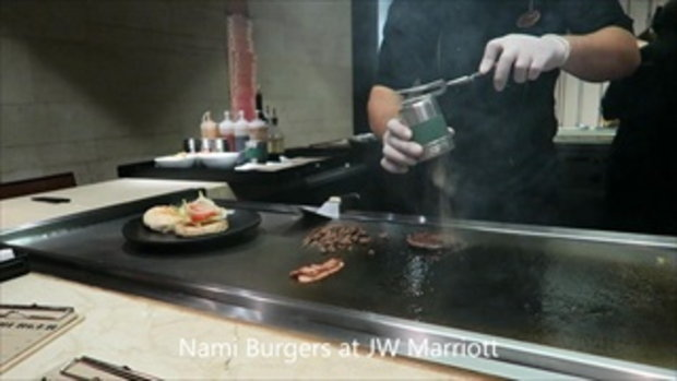 Wagyu Beef Burger @Nami JW Marriott