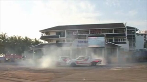 TOYOTA REVO DRIFT Thailand Super Series 28_11_2015