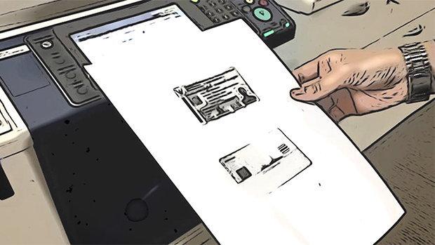 วิธีถ่ายสำเนาบัตรปชช. หน้า-หลัง แบบง่ายๆ