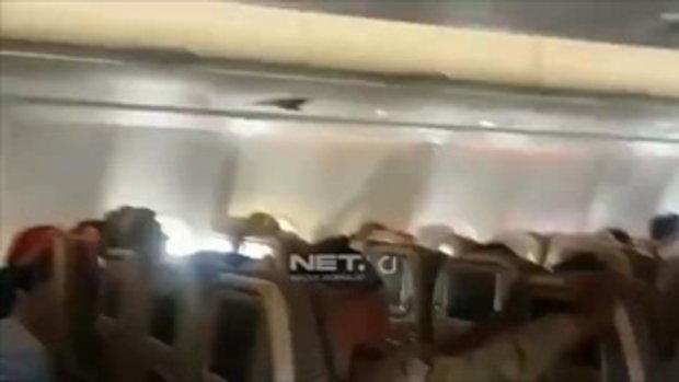 เครื่องบินเอทิฮัดตกหลุมอากาศอย่างแรง เจ็บ 31 ราย