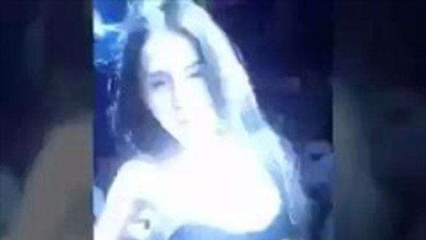 พริ้ตตี้สาวขาวเต้นร่อนเอวฟินมาก 18+  EP.4