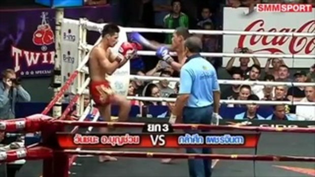 คู่มันส์ มวยไทย วันชนะ อ.บุญช่วย vs กล้าศึก เพชรจินดา